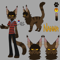 Nanna Reference Sheet by King-Adrian