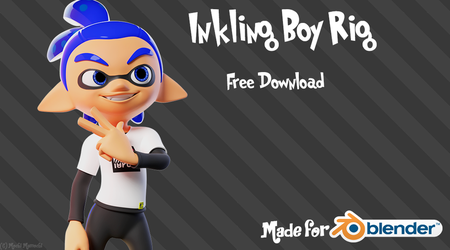 Inkling Boy - Free Download by MoiraMicole
