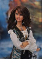Angelica: Mattel doll repaint by mary-vassilieva