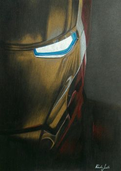 Iron Man  by klaudiajewula