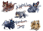 Derpish Dogs - Random Adopts - CLOSED by JB-Pawstep