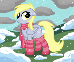 Winter Derpy by Fire-Girl872