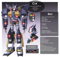 Cix Ref Sheet (Outdated) by LillinApocalypse