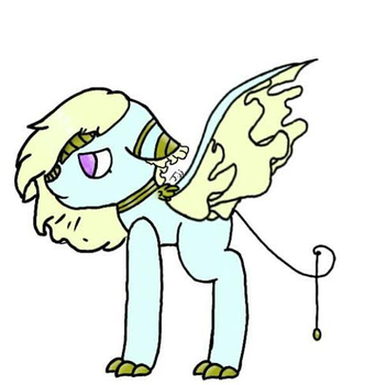 My new Butterfly Dragon Oc Dentelle by Journeyjj