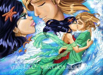 W.I.T.C.H. The Long Kiss by Galistar07water