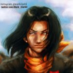 Android #17 painting by Mark-Clark-II