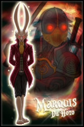 The Night of the Rabbit - Marquis De Hoto by MoonyWings