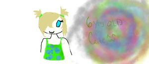 6 YEAR OLD CAITE!!!!!!!! by TheOperatorsShadow