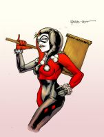 Harley Quinn, Pinkies Out V.2 by ParisAlleyne
