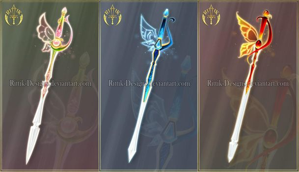 (CLOSED) Swords adopts 31 by Rittik-Designs