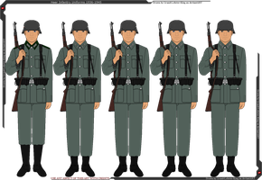 Heer Infantry Uniforms 1936-1945 by Grand-Lobster-King