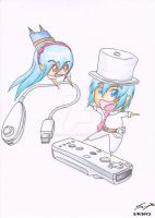 Wii remote students by ppeach444