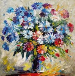 The Smell of Happiness by Leonid Afremov by Leonidafremov
