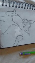 warrior cat stormswirl by horseggal101