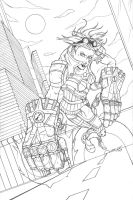 Vi Cover Pencils by DUNKMASTA