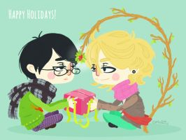 happy holidays! by OphAiRO