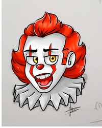 Pennywise by AtomTC
