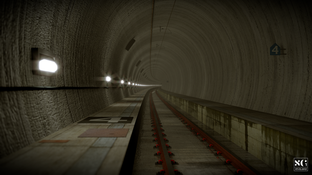 Tunnel by SamuelGauthier