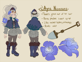Updated Aya Ref by Zeighous