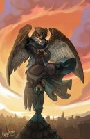 Uriel Plume-of-the-Dawn by Goat-Kid