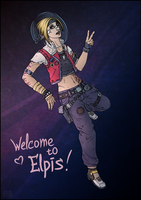 Borderlands TPS: Janey Springs by maryallen138