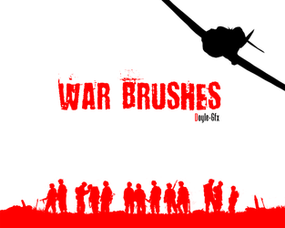 War Brush Pack by DoyIe-Gfx