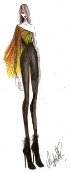 Fashion Sketch 06 by my-beret-is-red