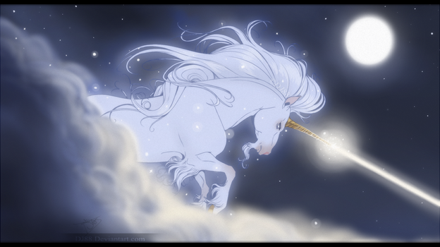 Unicorn in the night by DJ88