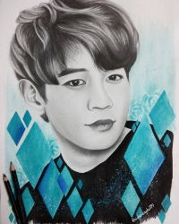 #10YearsWithSHINee - Minho by Art-Ablaze