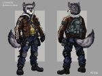 Connor McTavish - Reference Sheet by TheLivingShadow