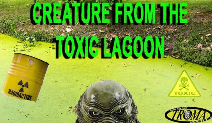 Creature From The Toxic Lagoon by FrogGod1