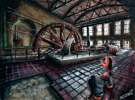 [Gift] Adventures Ayri in a old power station by Sa1ntMax