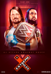 WWE Extreme Rules 2018 Poster by workoutf