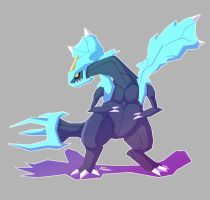 Kyurem of Giant Chasm by Hey-its-Josh