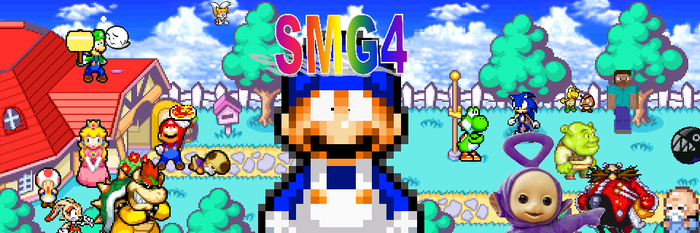 SMG4 Poster by Toad900