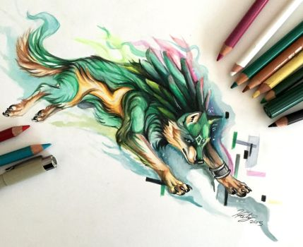11- Wolf Link by Lucky978