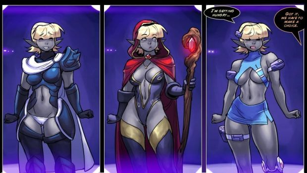 drowtales space age panels by blackmyst