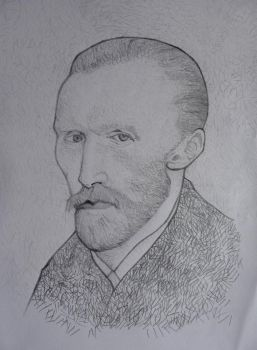 Vincent Van Gogh by Miro790