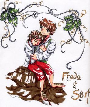 Frodo and Samwise by wingfoot
