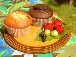 Summer Cupcake by kumArts