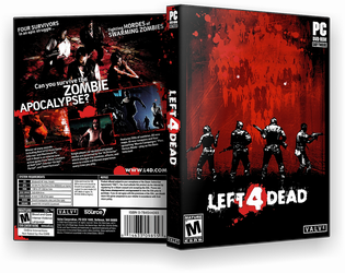 Left 4 Dead PC Cover by nded