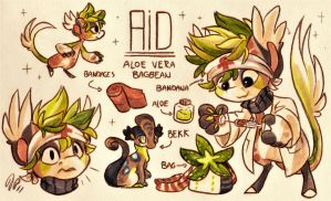 Aid Ref. Sheet [Commission] by Baraayas