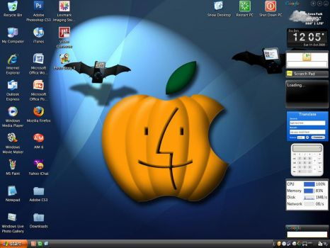 Oct 08 Desktop 1.0 by cyazian
