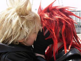 Axel and Roxas Yaoi by Wolfblood11