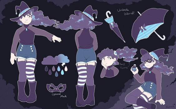 Design Trade: Stormy Witch by ForsakenSpirits