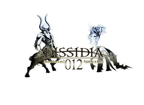Dissidia 012 Logo by DLowell