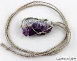 Amethyst Necklace 2 by LWaite