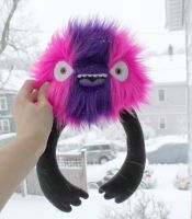 Snow Day Monster by loveandasandwich