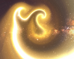 The Golden Glow of Spacetime Continuum by Fajolras