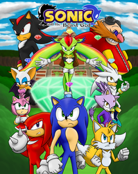 Sonic and The Beast God Promo Poster by JCMX